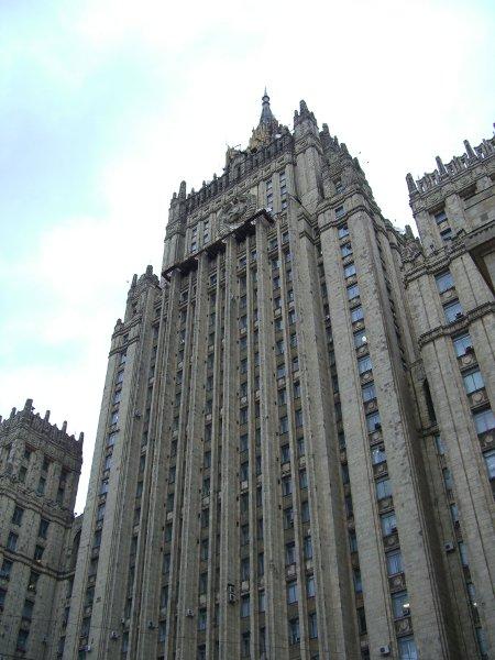 ... et celui du ministère russe des Affaires étrangères : plus que jamais dans une relation de proximité