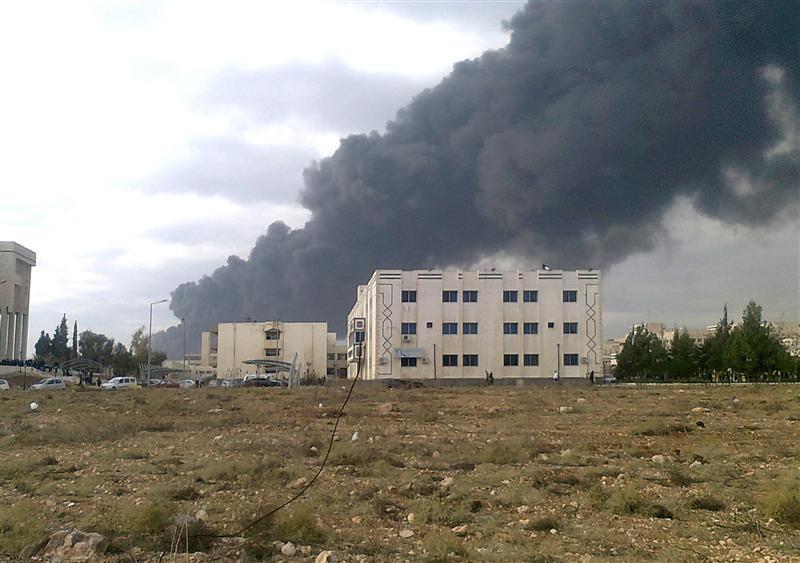 Après le sabotage d'un oléoduc à Homs, en décembre dernier : les activistes participent à leur niveau à l'étranglement économique de la Syrie par la coalition occidentale