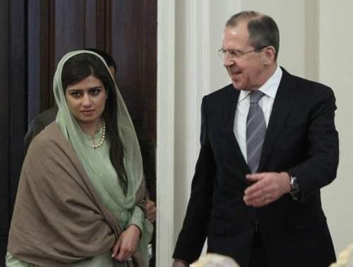 Hanna Rabbani Khar et Sergueï Lavrov : une certaine identité de vue russo-pakistanaise sur la Syrie