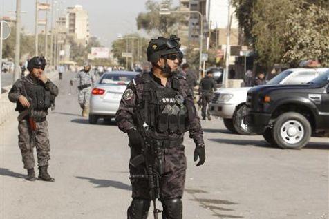 """Forces spéciales irakiennes dans la """"zone verte"""" de Bagdad où se tient le sommet arabe : l'hôte - et nouveau président - de la Ligue arabe sait ce que veut dire le terrorisme islamiste"""