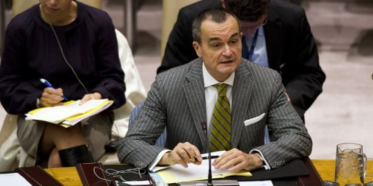 Gérard Araud, l'homme de Juppé à l'ONU : il fait patte de velours, mais veut toujours griffer