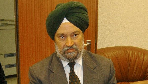 ... et le représentant indien à l'ONU, Hardeep Singh Puri : non à l'ingérence et au terrorisme en Syrie !