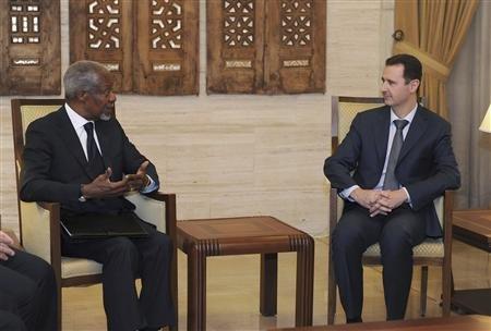 C'est parce qu'il le considère - enfin - comme un chef d'Etat à part entière et non un criminel en sursis que l'ONU peut espérer un dialogue (vraiment) constructif avec Bachar