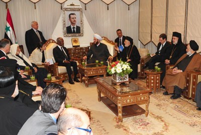 Kofi Annan et les chefs spirituels syriens : la tolérance existe depuis longtemps en Syrie