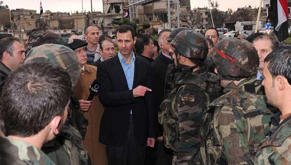 """En mettant fin au """"califat de Bab Amr"""", Bachar a rendu service à tous les Syriens, toutes tendances et communautés confondues..."""