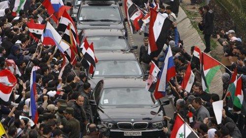 La visite de Lavrov à Damas, le 7 février : un tournant dans la crise