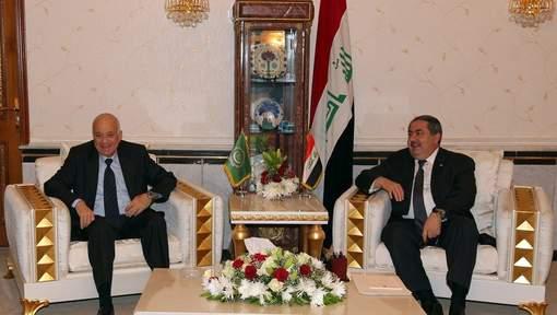 Nabil al-Arabi et son hôte irakien Hochiar Zebari : le sommet de Bagdad sur la Syrie ne ressemblera pas aux précédents
