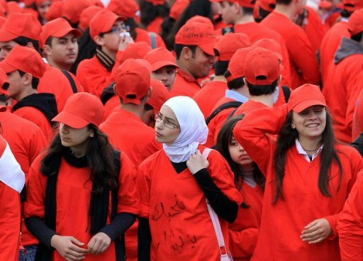 Damas, le 15 mars