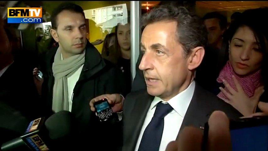 """Il y a 48 heures, Nicolas Sarkozy avait """"précédé"""" l'événement. A présent il va lui courir après..."""