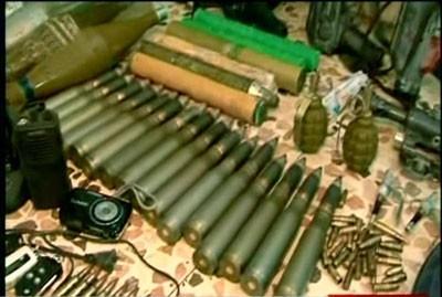 Chaque jour, deux ou trois dépôts d'armes clandestins sont saisis en Syrie, sans doute aujourd'hui le plus grand arsenal virtuel du monde arabe