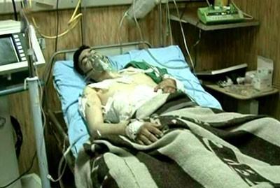 Un des policiers victimes du guet-apens d'Alep