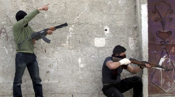... comme n'existent pas beaucoup plus ces insurgés en pleine application du cessez-le-feu...