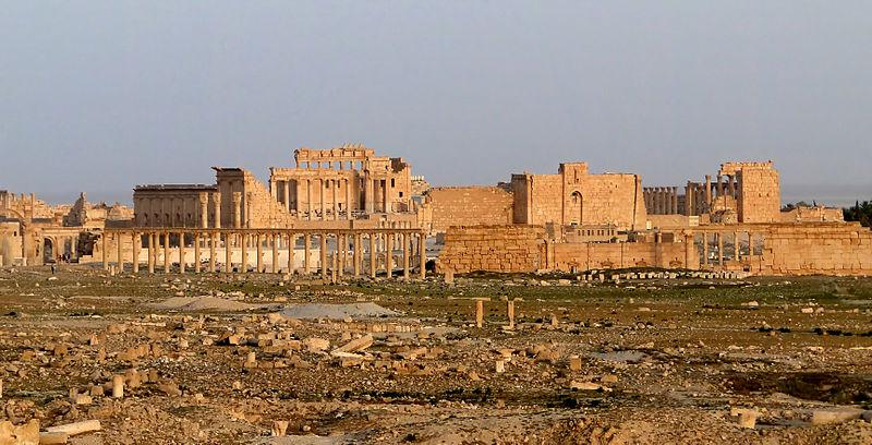 Palmyre chef d'oeuvre mis en péril par l'irakisation de la Syrie