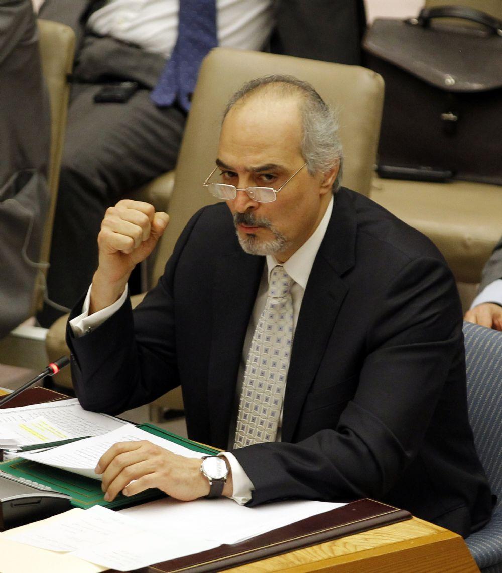 Bachar al-Jaafari, ambassadeur de Syrie à l'ONU, a bien précisé que le cessez-le-feu concernait aussi les bandes armées : ça parait évident, mais ça va mieux en le disant...