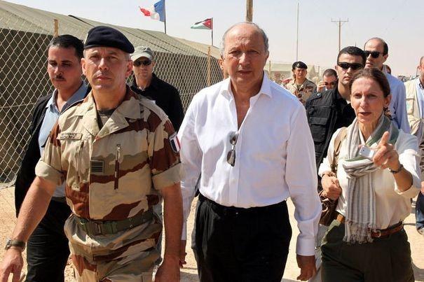 Laurent Fabius en Syrie