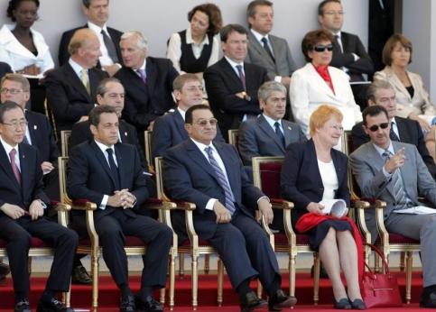 Bachar, Sarkozy & Mougeotte : tel maître, tel valet ...
